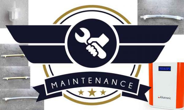 Alkatronic maintenance set (4x internal hoses and 1x filter)