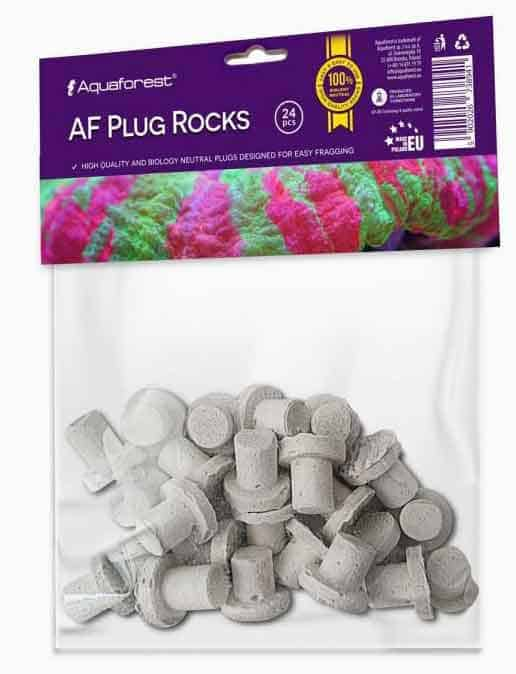AquaForest plug rocks 24pcs frag plugs
