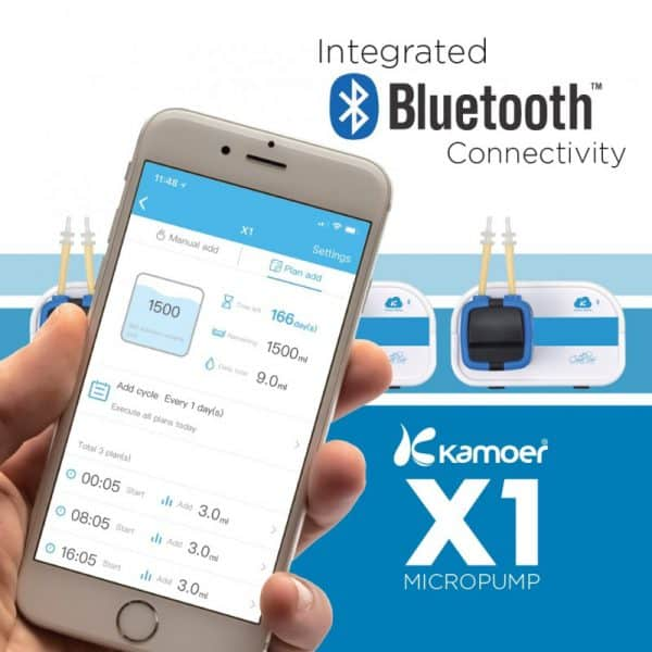 Kamoer X1 Single Dosing pump app