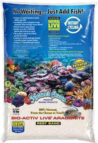 Natures Ocean BioActiv Live Sand white 0,5-1,7mm