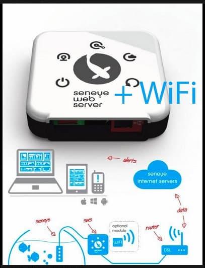 Seneye web server WiFi