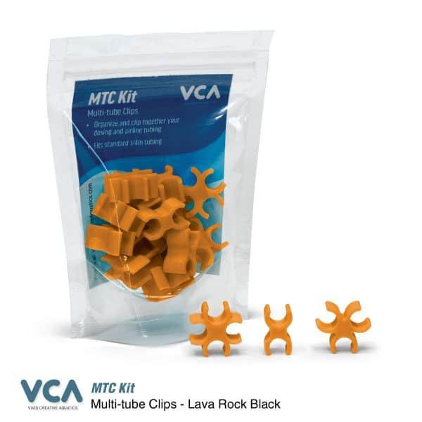 VCA Multi Tube clips Yuma Orange
