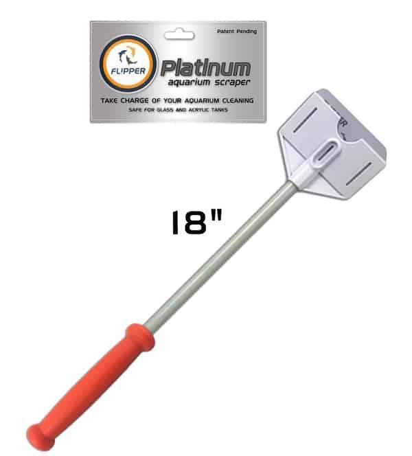 flipper Platinum Scraper 45cm / 18